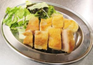 チキンコンフィ:700円