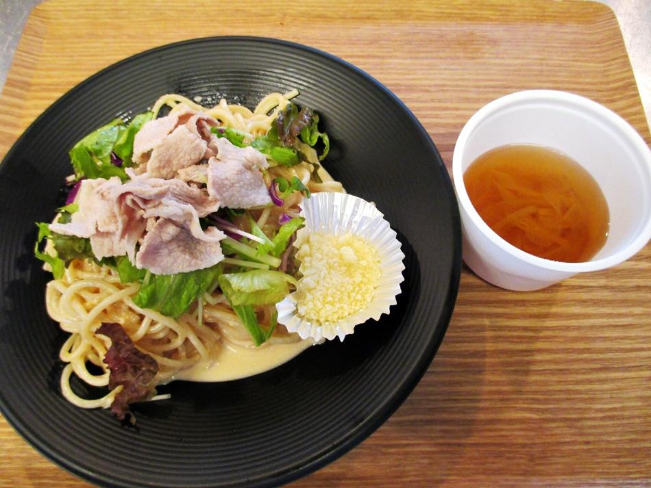 冷製味噌マヨクリームパスタセット:850円